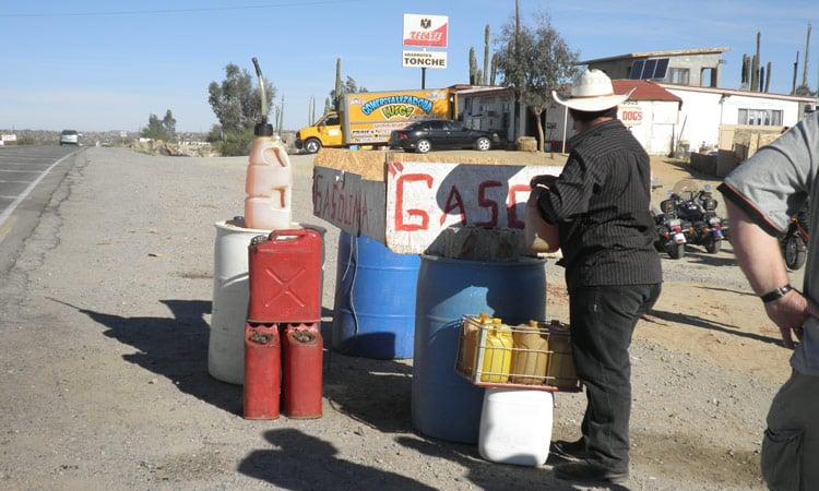 Tankstelle auf Mexikanisch