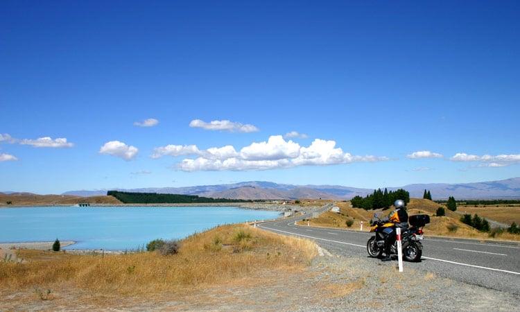Blick auf den See Tekapo