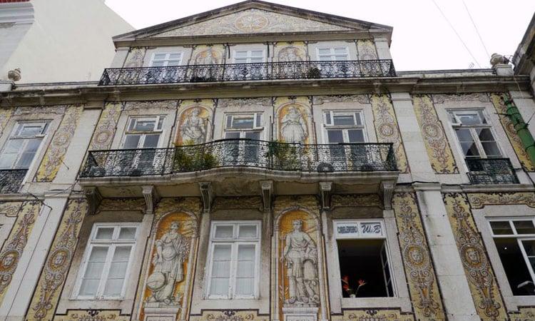 Antike Fassade