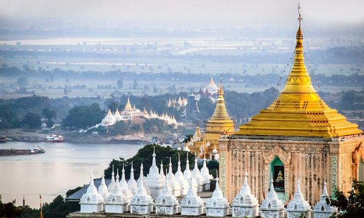 Die Tempel in Mandalay