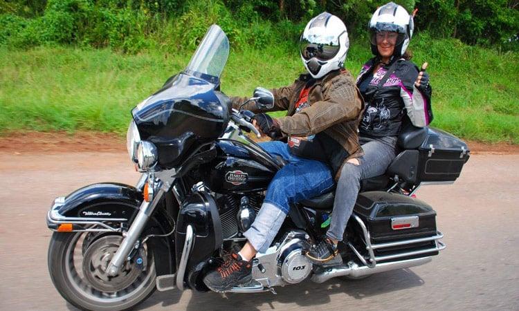 Alle genießen die Fahrt nach Trinidad