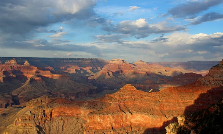 Sonnenuntegang am Grand Canyon