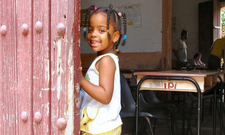 hübsches kubanisches Mädchen