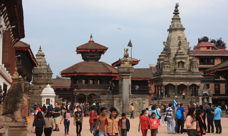 Die Stadt Bhaktapur Unesco Welterbe