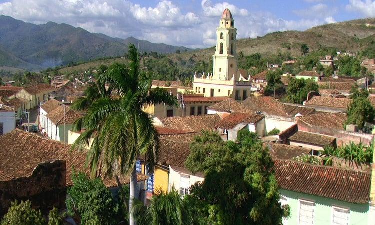Blick auf Trinidad UNESCO Weltkulturerbe