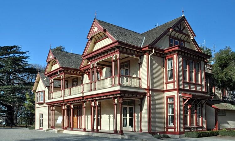 Antikes Haus in Christchurch