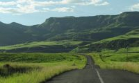 """Eine schöne Motorradstrecke """"Die Drakensberge"""""""