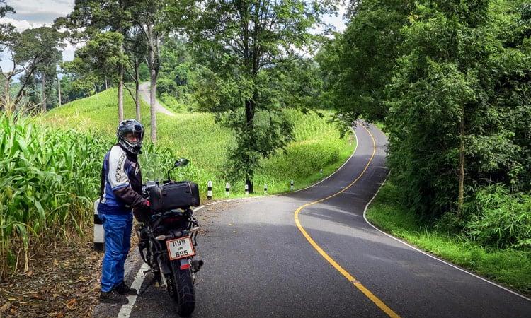 In Thailand haben wir wieder Linksverkehr