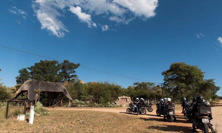 Der Eingang zum Matopos National Park