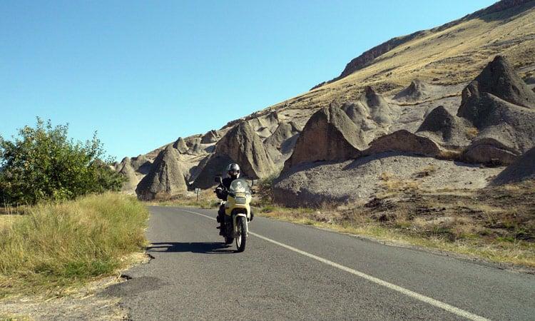 Die Fahrt von Kappadokien nach Anamur