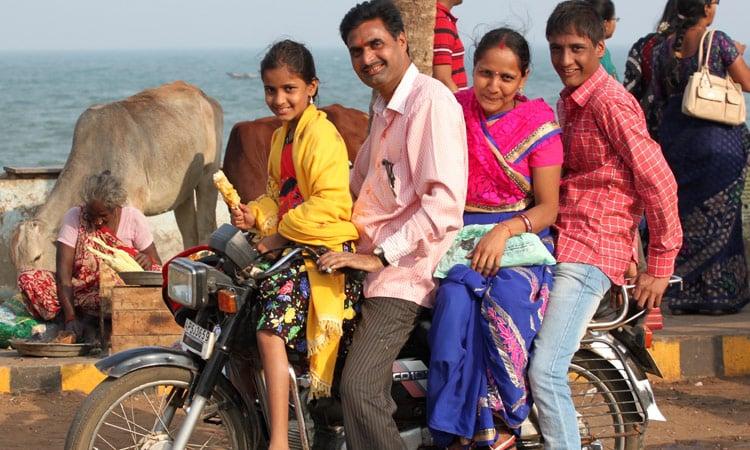 Ein ganz normales Familienfahrzeug