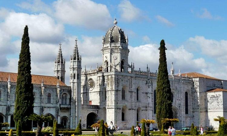 Das Kloster Mosteiro dos Jeronimos