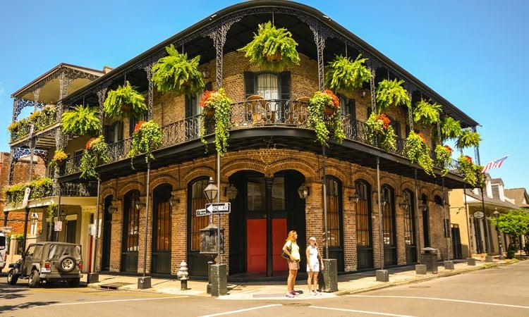 Historisches Haus New Orleans