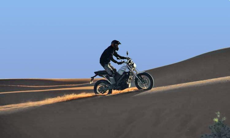 Dünenfahrt in der Sahara