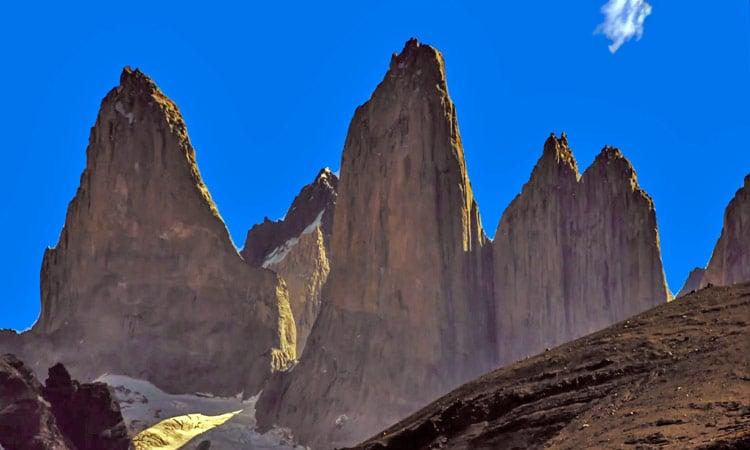 Die berühmten Gipfel Torres del Paine