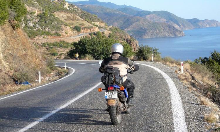 Küstenstrasse kurz vor Kap Anamur