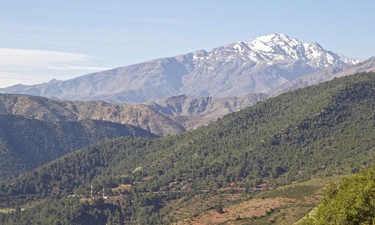 Das Atlas Gebirge
