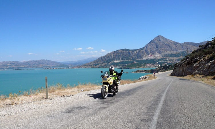 Entlang der Küste nach Antalya
