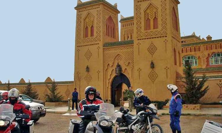 Haupteingang zur Kasbah Asmaa