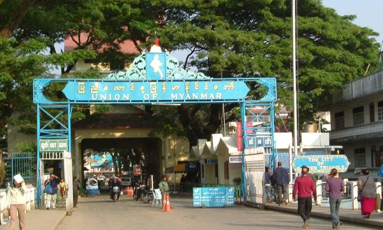 Ausflug nach Myanmar