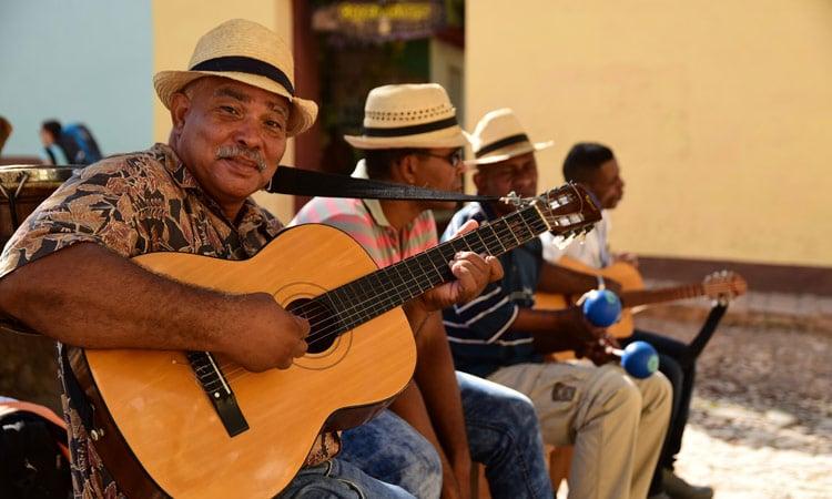Straßenmusik in Santa Clara