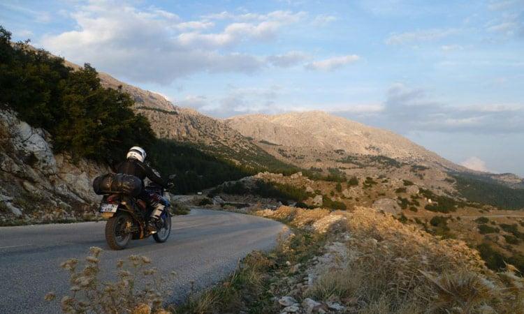 Das Taurusgebirge in der Abendsonne