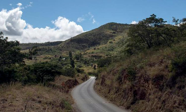 Durch die Berge von Bvumba nach Masvingo