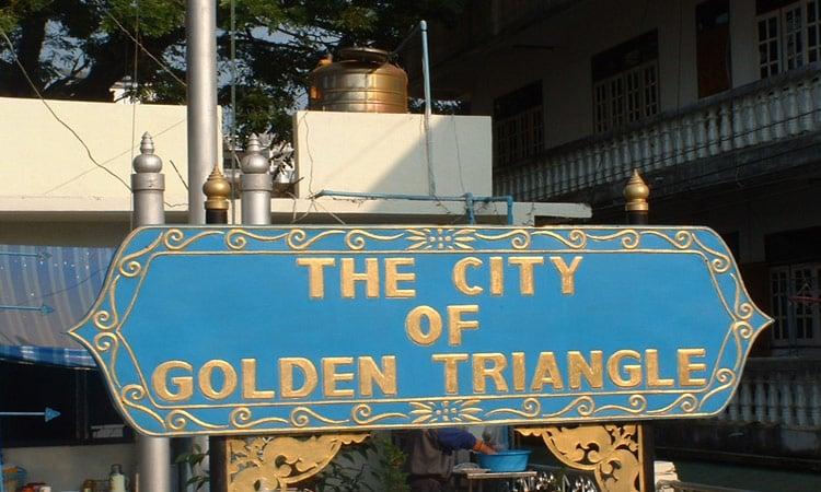Die Stadt am goldenen Dreieck