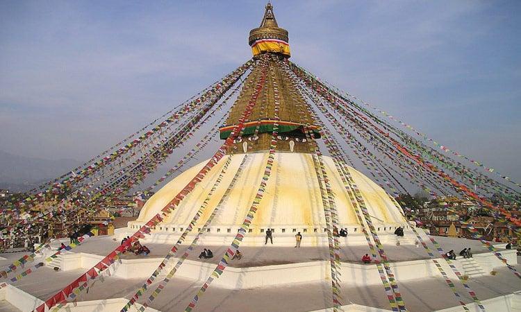Die Boudhanat Stupa