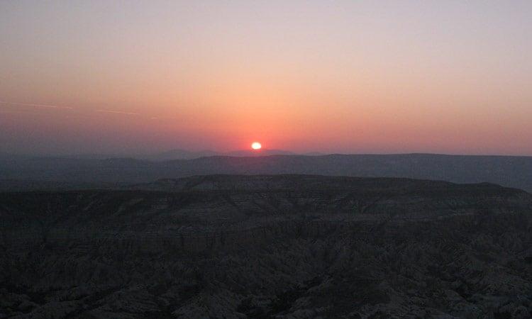 Türkei Sonnenuntergang