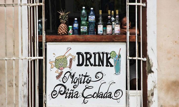 und jetzt eine Pina Colada....