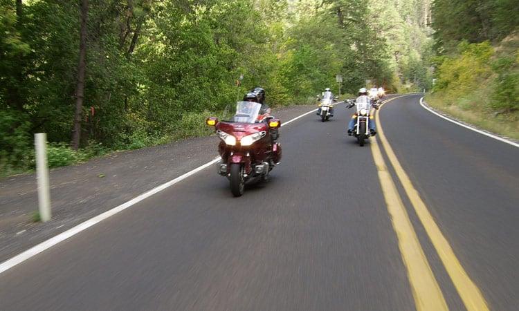 Fahrt zur Biker Bar in Ojai