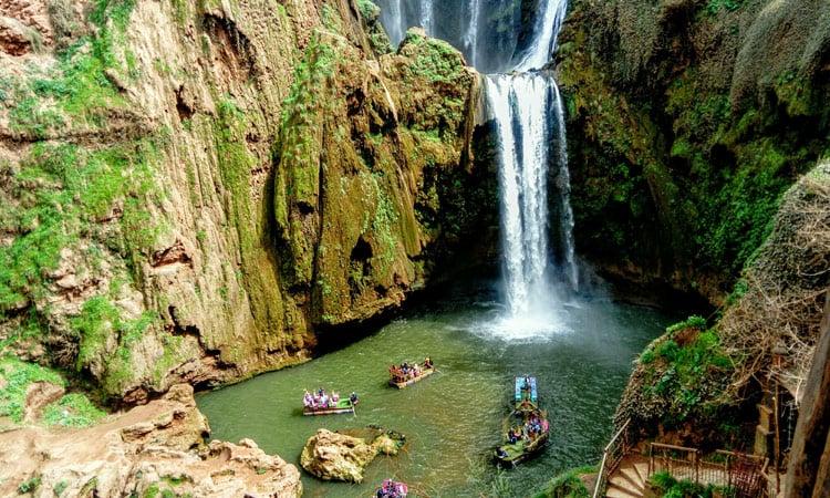 Cascades d'Ouzoud Wasserfälle