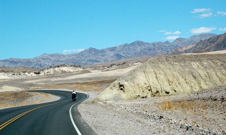 Fahrt durch das Death Valley