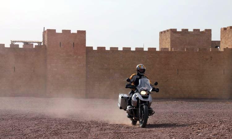 Die alte Festung in Rabat