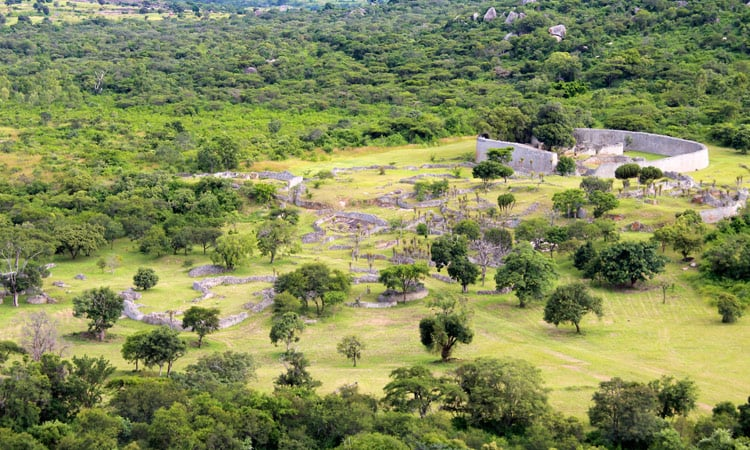 Groß Simbabwe Ruinenstadt
