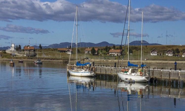 Der Yachthafen in Ushuaia