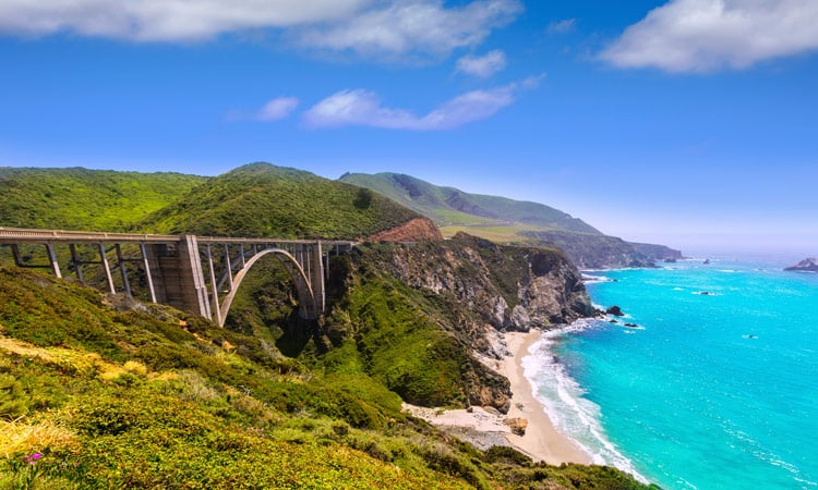 Highway no1 Big Sur