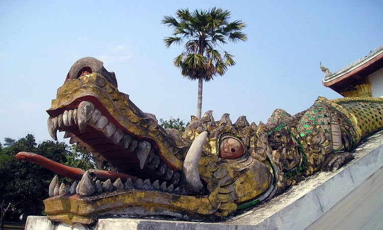 Der Drachentempel in Luang Prabang