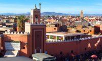 Marrakesch Blick auf die Stadt