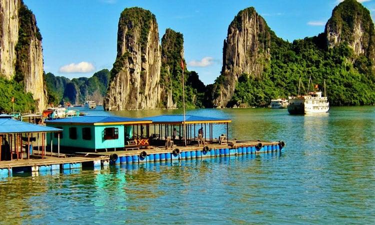 Anlegestelle Halong Bay