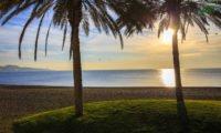 Malaga Blick aufs Meer