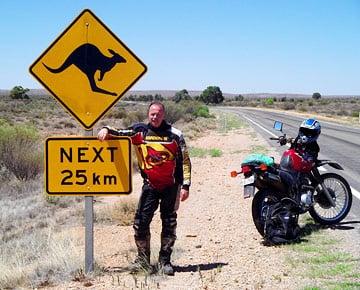 Motorradreisen in Australien und Neuseeland