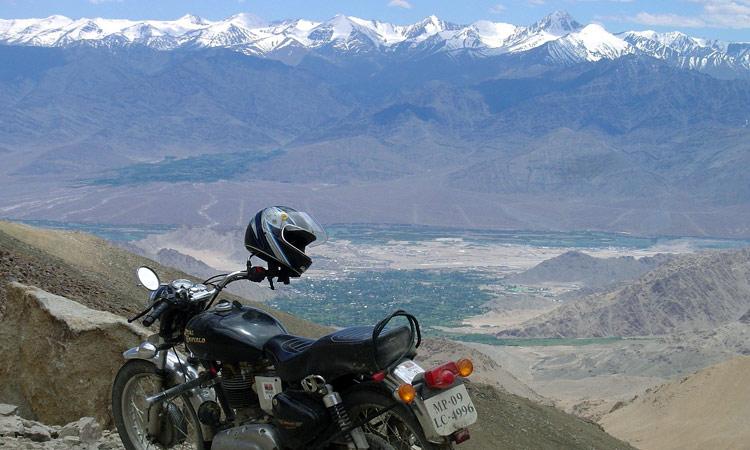 Der Ausblick vom Khardung La Pass