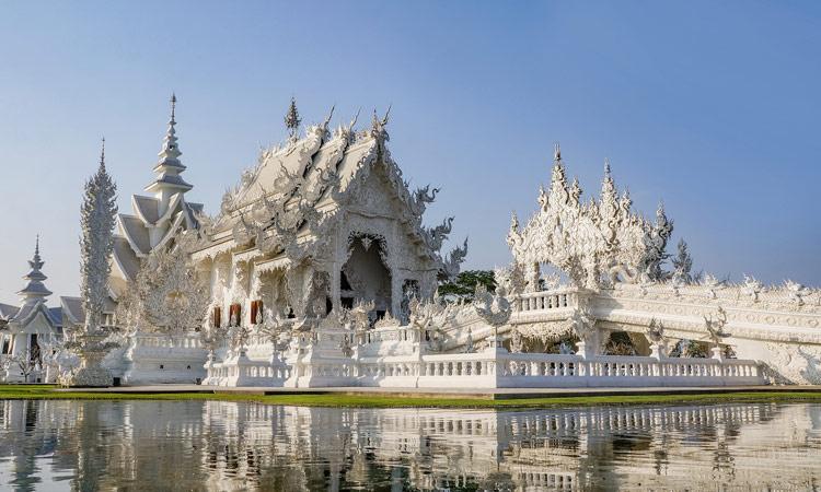 Der weiße Tempel Chiang Rai