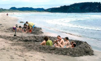 Neuseeland Coromandel Halbinsel hot water beach