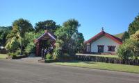 Maori Marae (Maori meeting houses) Te Poho-o-Rawiri in Gisborne