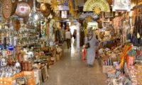 Türkischer Bazar in der Altstadt von Antalya