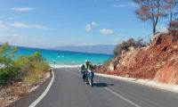 Traumhafte Küstenstraße an der Türkischen Riviera