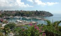 Idylischer Hafen Türkische Küste